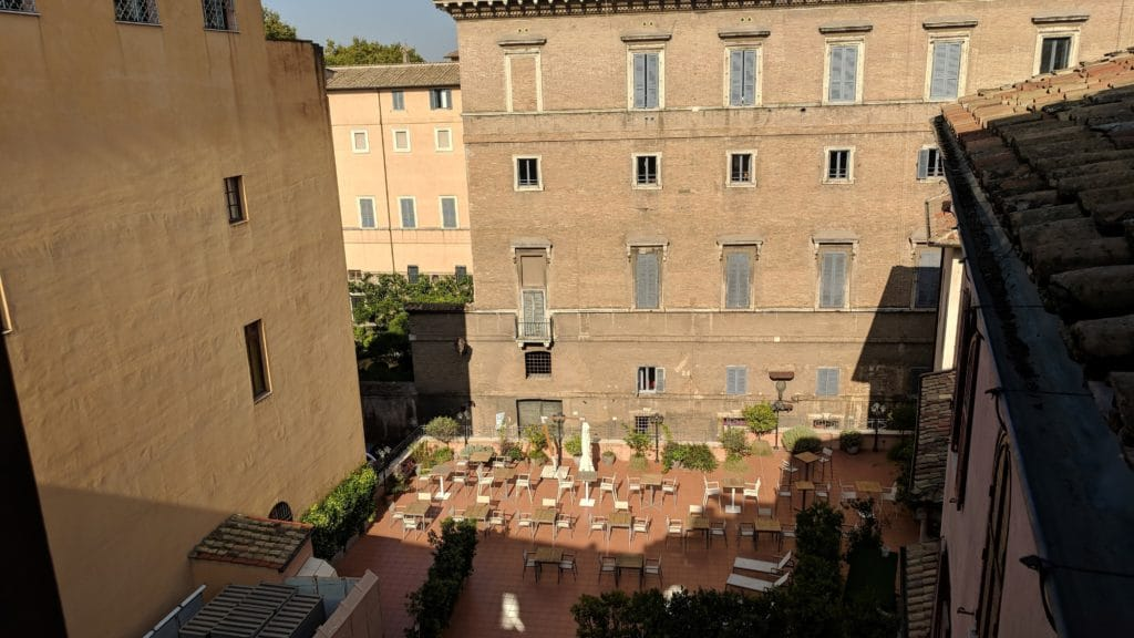 Hotel Indigo Rom Ausblick