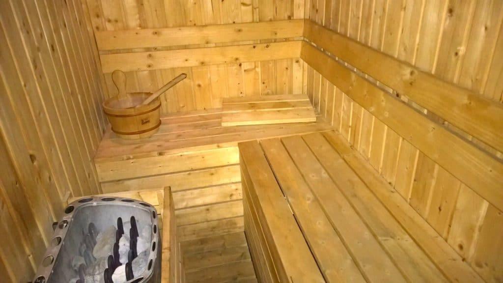 JW Marriott Mussoorie Walnut Grove Sauna
