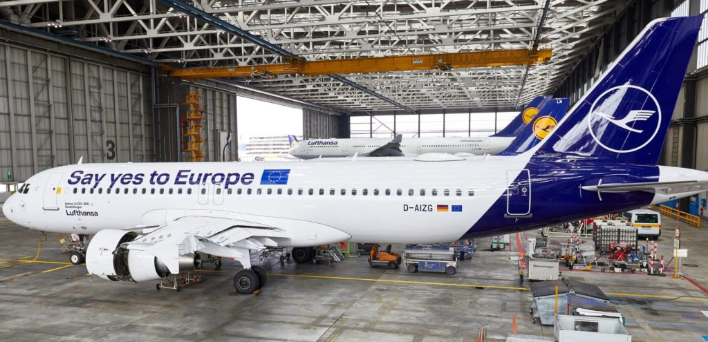 Lufthansa A320 Sayyestoeurope