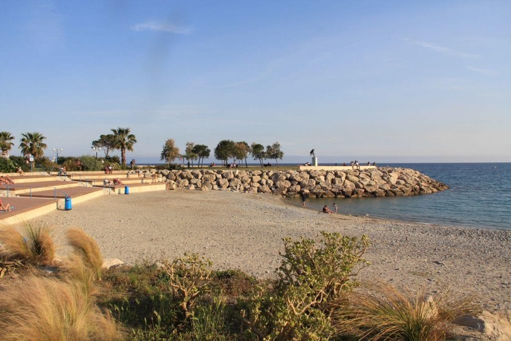 Menton Strand 3