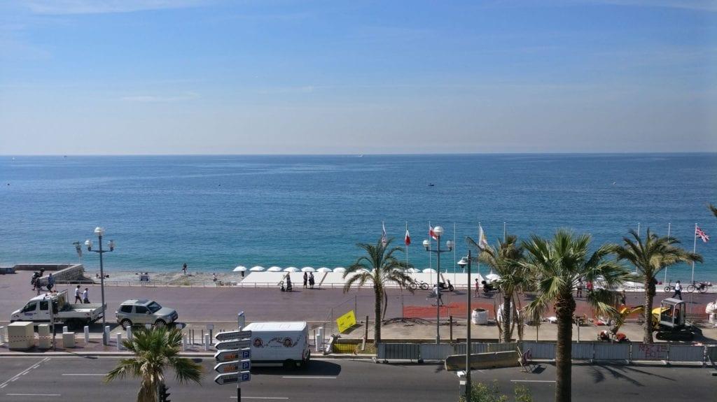 Mercure NIzza Promenade Des Anglais Ausblick
