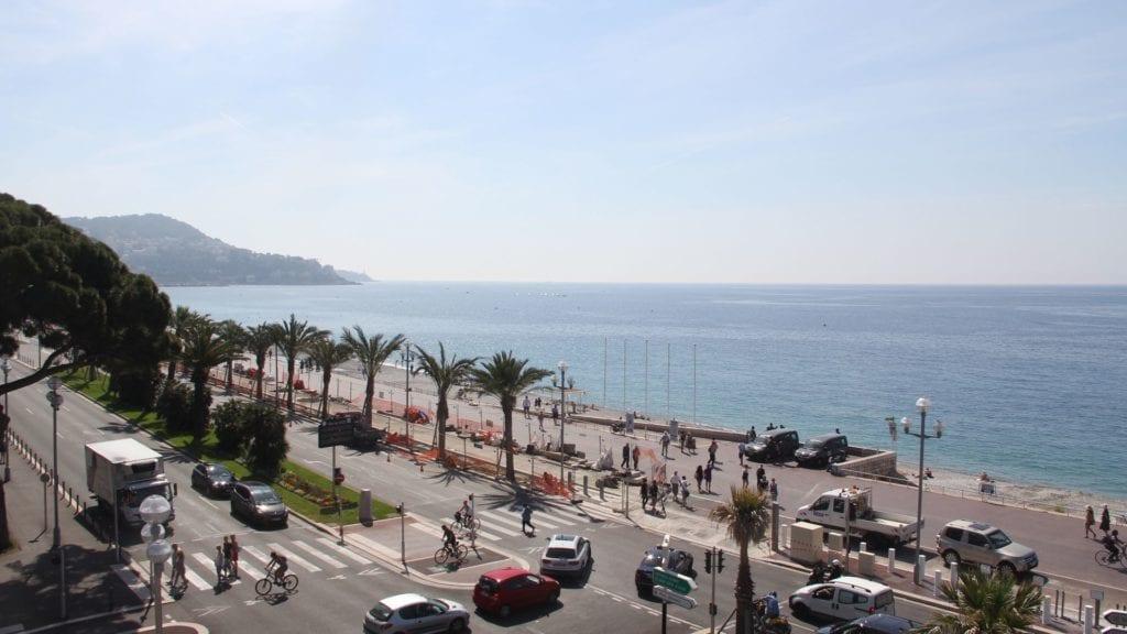 Mercure NIzza Promenade Des Anglais Ausblick 2