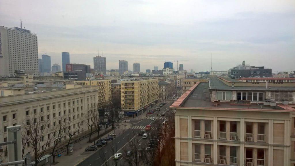 Mercure Warschau Grand Ausblick