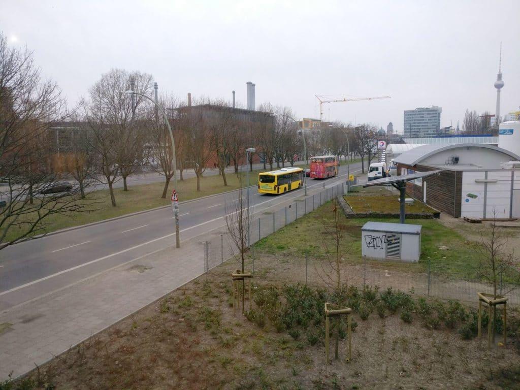 Moxy Berlin Ostbahnhof Ausblick