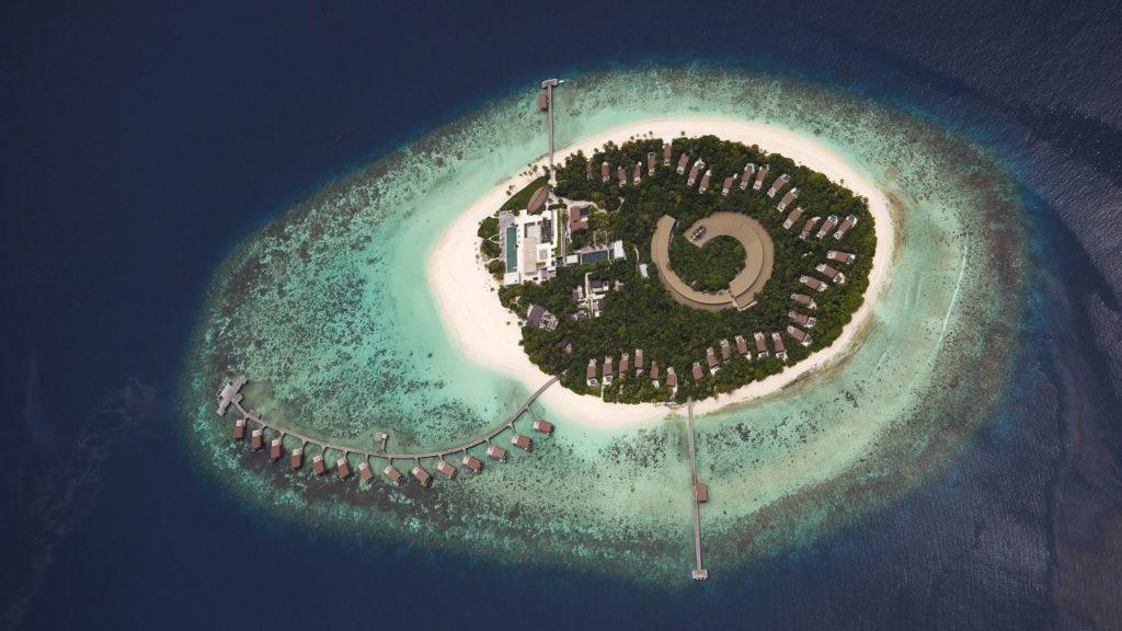 Park Hyatt Maldives Hadahaa P081 Exterior Aerial Closeu