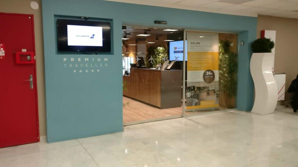 Premium Traveller Lounge Paris Orly Eingang 2