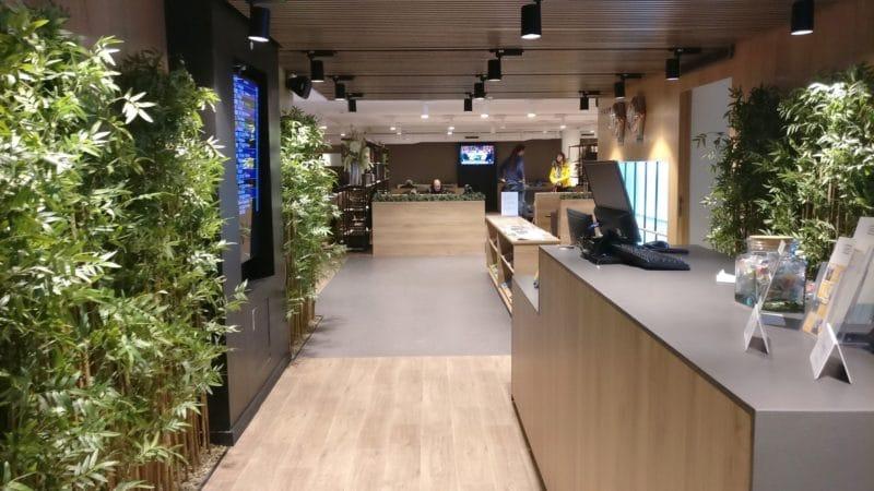 Premium Traveller Lounge Paris Orly Eingang