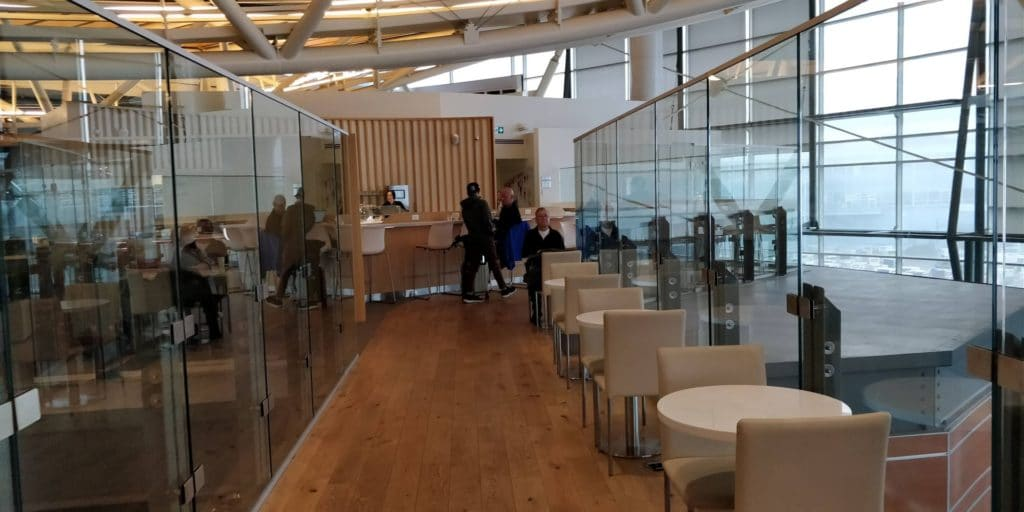 Skyteam Lounge Vancouver Layout 3