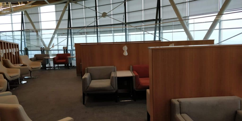 Skyteam Lounge Vancouver Layout 4
