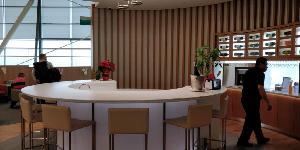 Skyteam Lounge Vancouver Layout 5