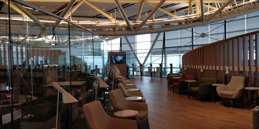 Skyteam Lounge Vancouver Layout 6
