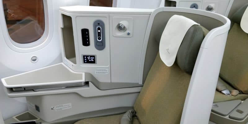 Vietnam Airlines Boeing 787 Business Class Sitz