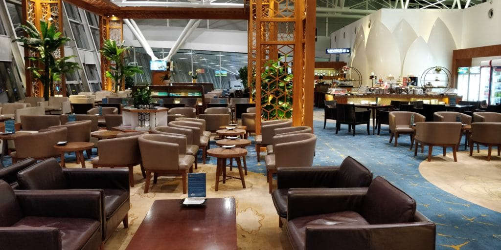 Vietnam Airlines Lotus Lounge Hanoi