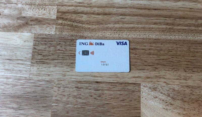 Kreditkarte bei ing diba