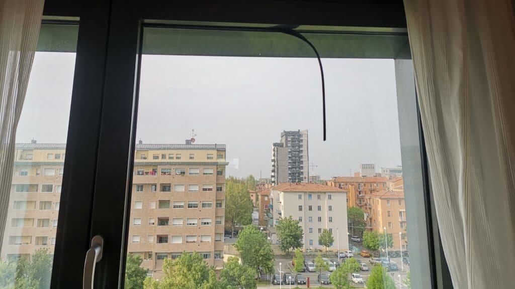 AC Hotel Bologna Fenster