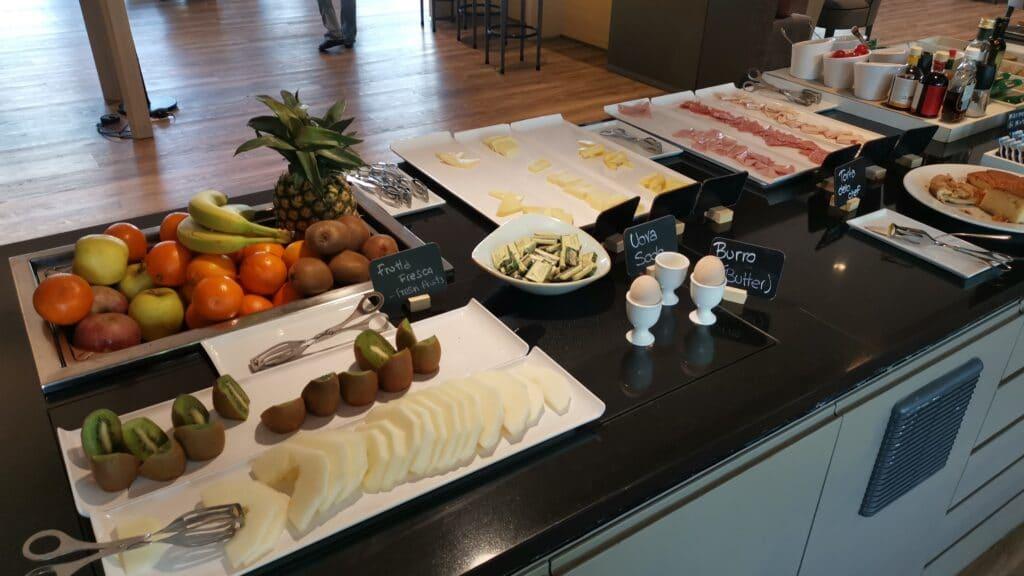 AC Hotel Bologna Frühstück