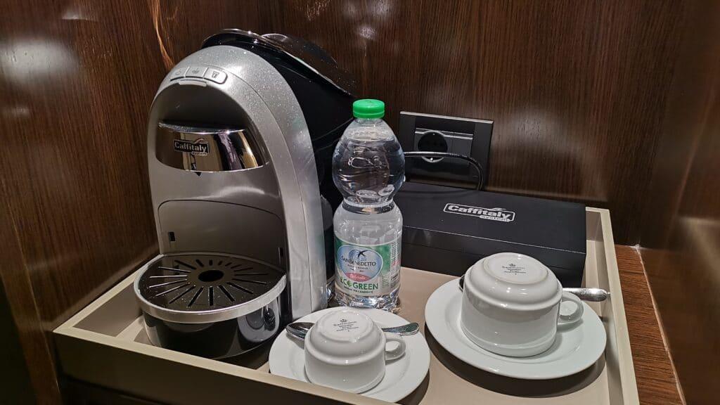 AC Hotel Bologna Kaffeemaschine