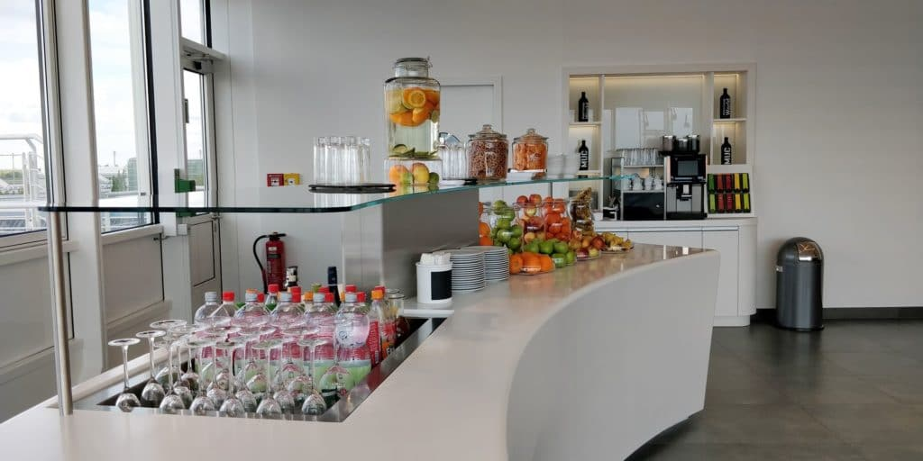 Airport World Lounge München Buffet
