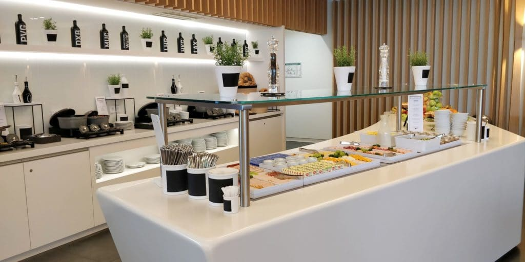 Airport World Lounge München Buffet 2