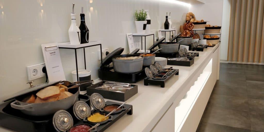 Airport World Lounge München Buffet 3