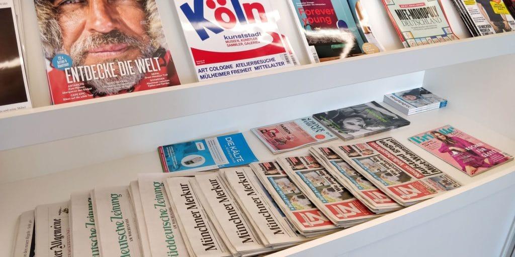 Airport World Lounge München Magazine