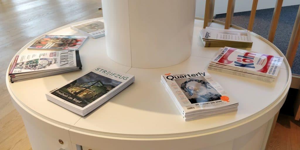 Airport World Lounge München Magazine 2