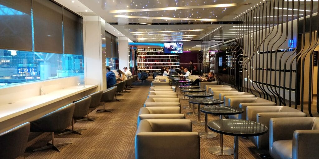 EVA Air The Infinity Lounge Taipeh
