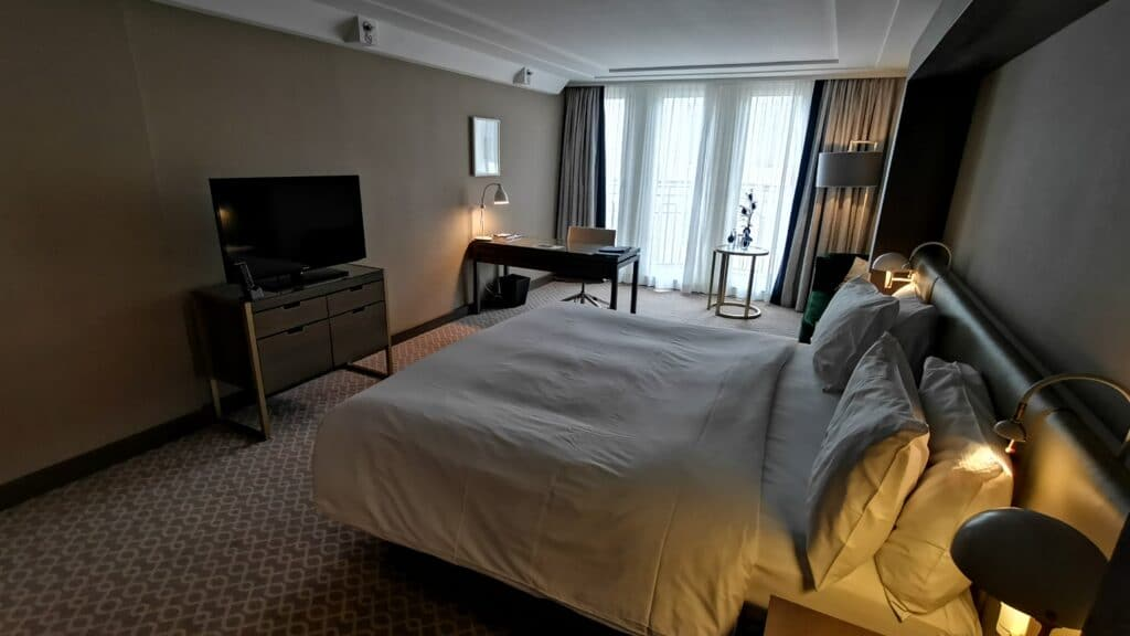 Hilton Wien Plaza Zimmer