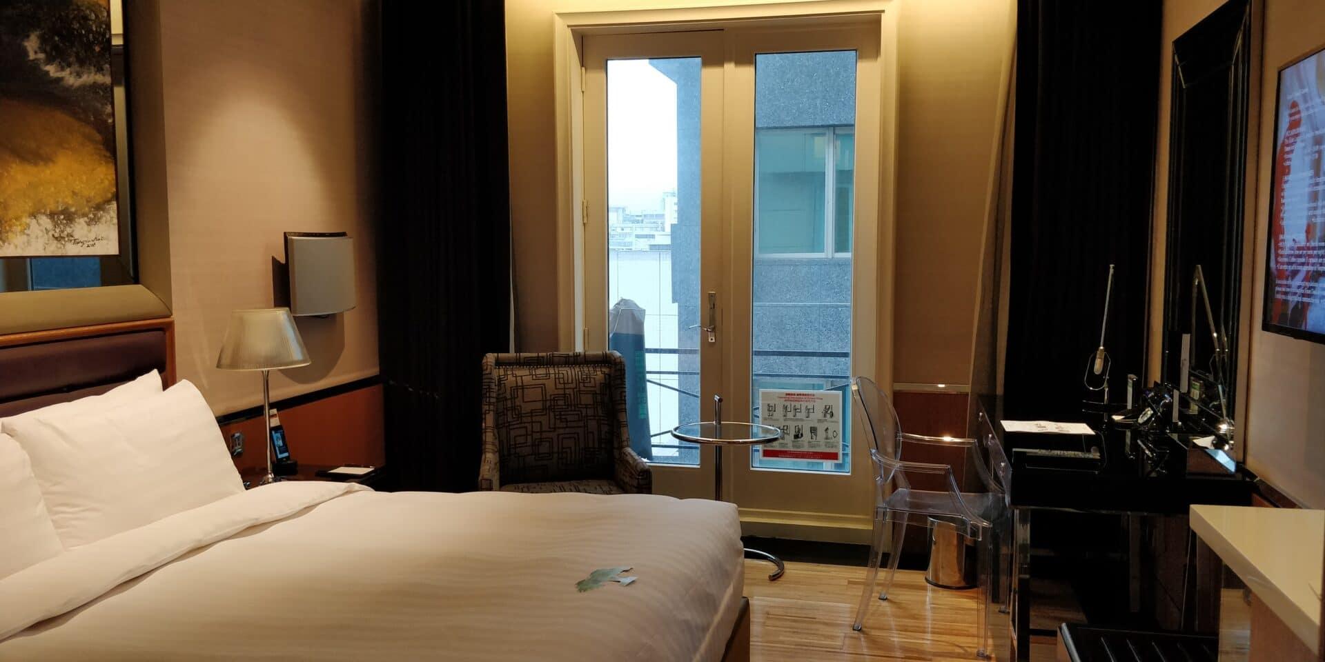 Hotel Eclat Taipeh Zimmer