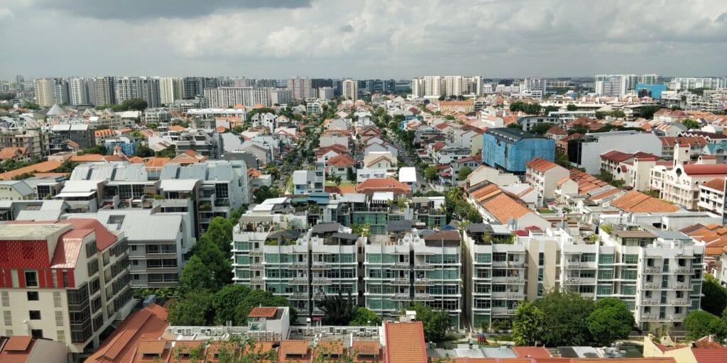 Indigo Singapur Katong Ausblick