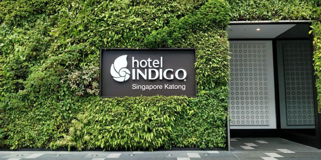 Indigo Singapur Katong Eingang