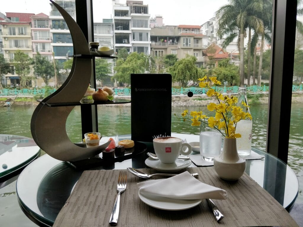 InterContinental Hanoi Westlake Afternoon Tea