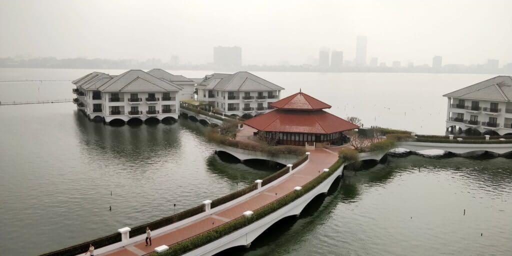 InterContinental Hanoi Westlake Ausblick
