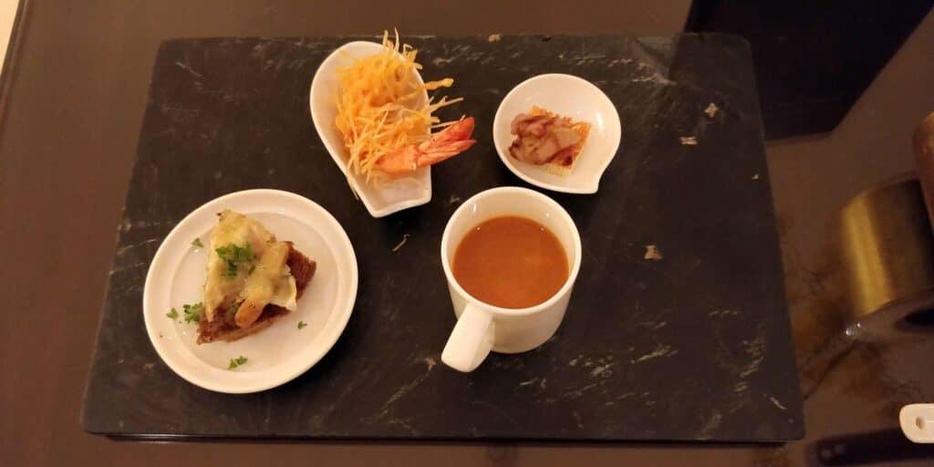 InterContinental Hanoi Westlake Lounge Abendessen 6