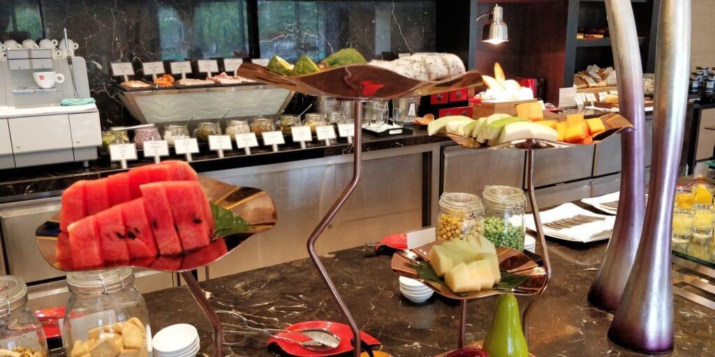 InterContinental Hanoi Westlake Lounge Frühstück 6