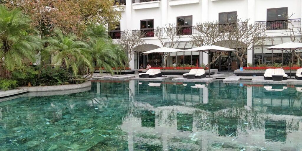 InterContinental Hanoi Westlake Pool 2