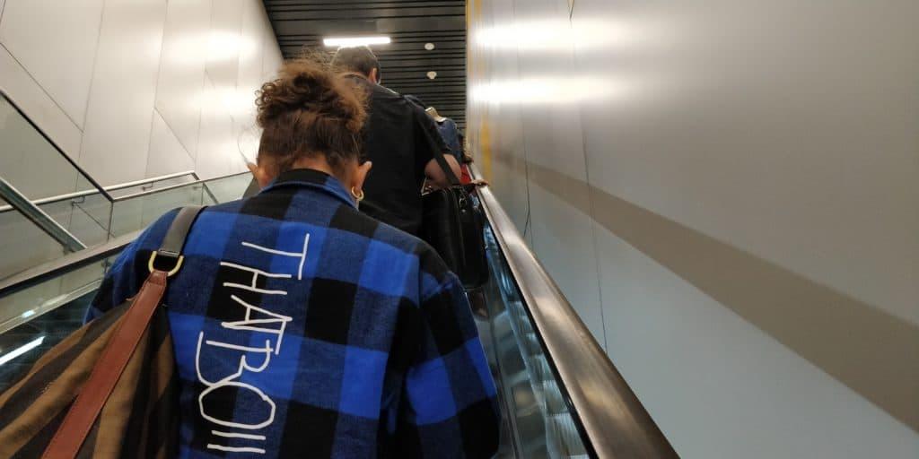 Istanbul Airport Gedrängel