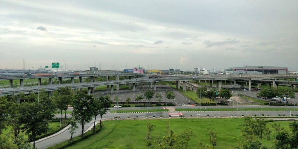 Novotel Bangkok Suvarnabhumi Airport Ausblick