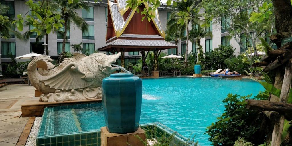Novotel Bangkok Suvarnabhumi Airport Pool 3
