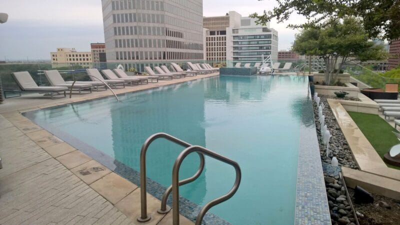 Omni Hotel Dallas Pool 2