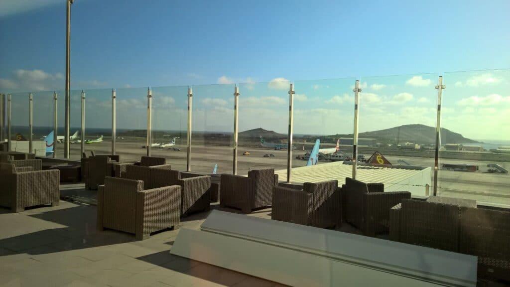Sala VIP Galdos Gran Canaria Terrasse
