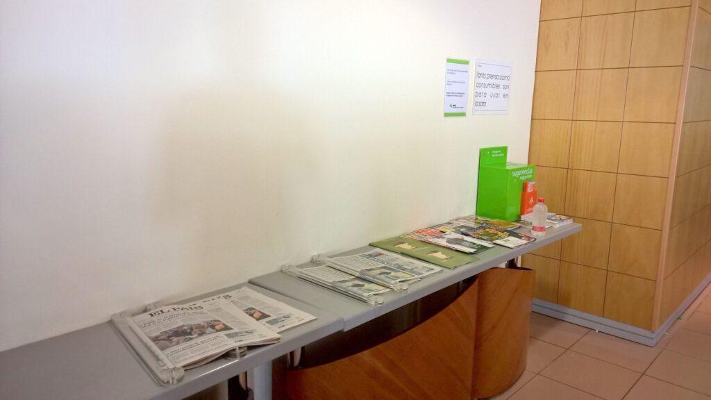 Sala VIP Galdos Gran Canaria Zeitungen