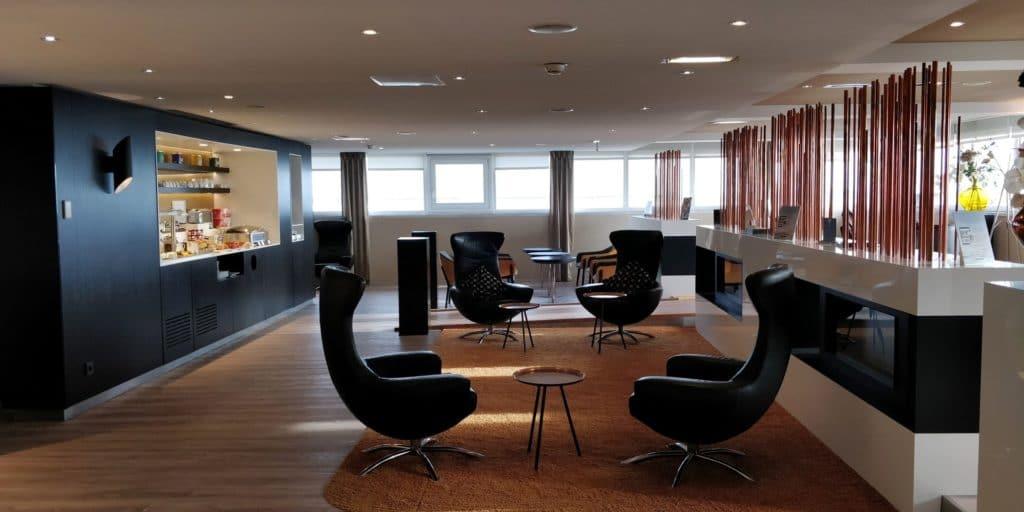 Star Alliance First Class Lounge Paris 2
