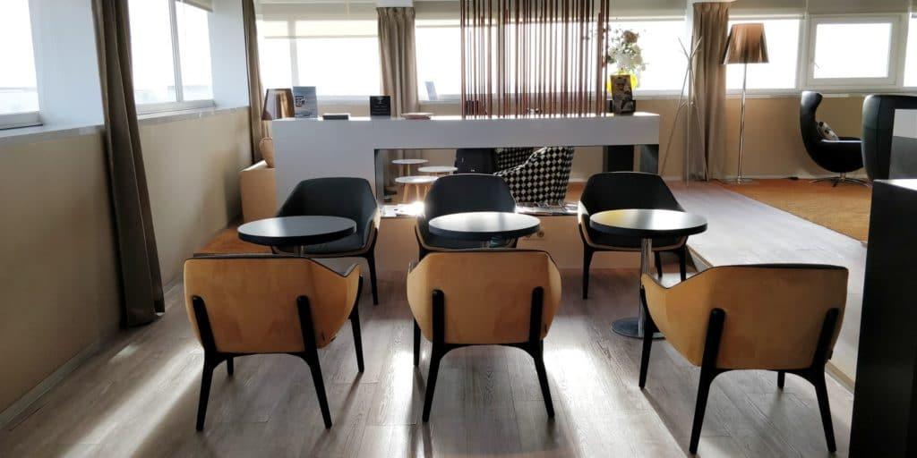 Star Alliance First Class Lounge Paris 3