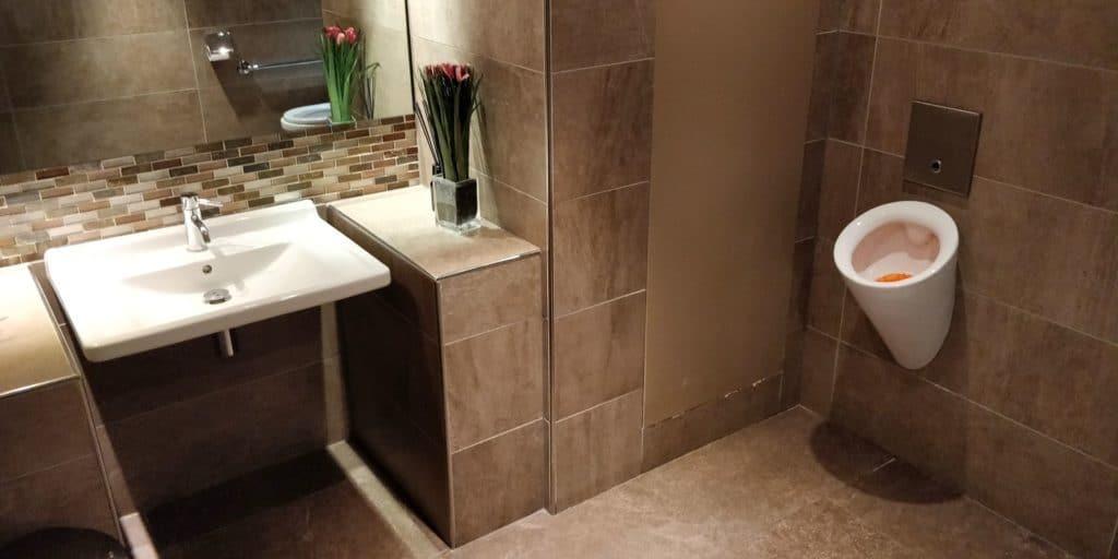 Star Alliance First Class Lounge Paris Toilette