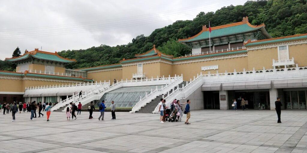 Taipei Palastmuseum Taiwan