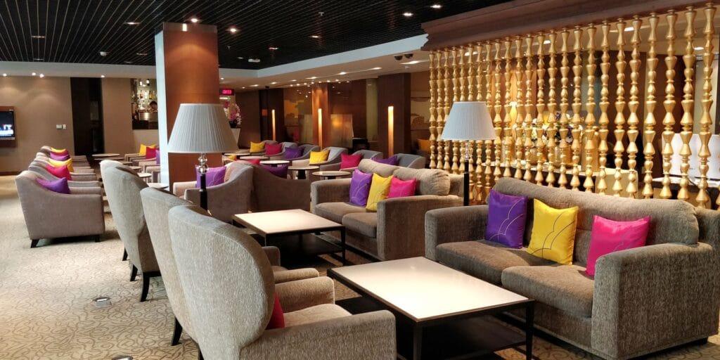 Thai Airways FIrst Class Lounge Bangkok 4