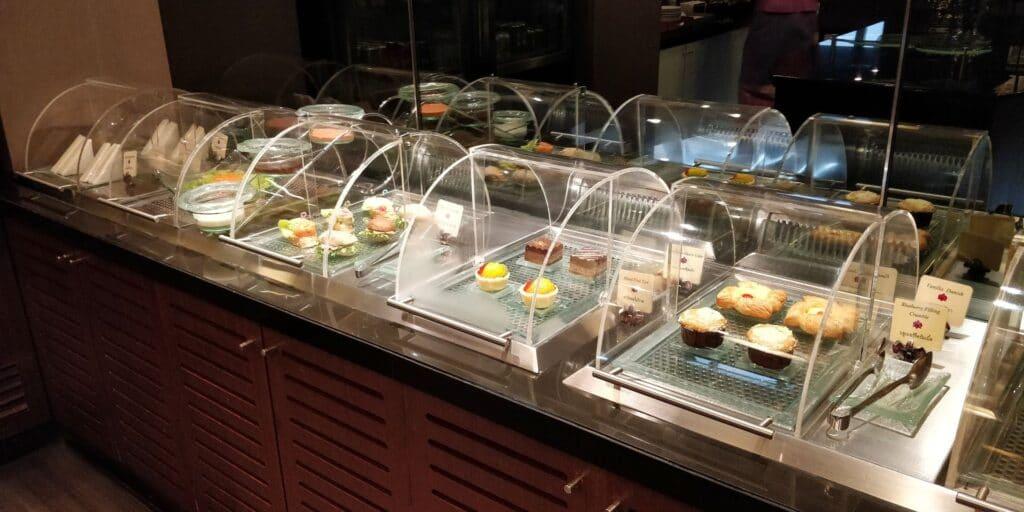 Thai Airways FIrst Class Lounge Bangkok Buffet