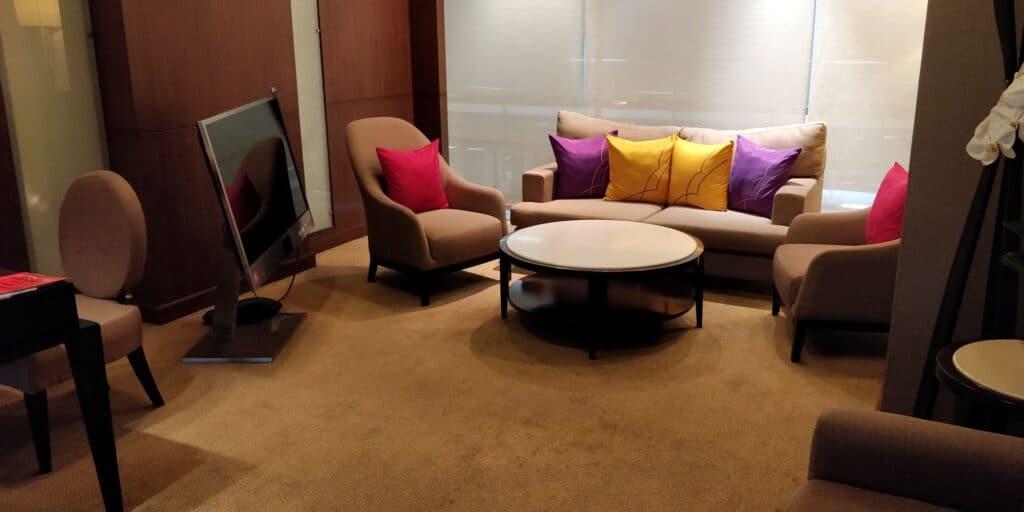 Thai Airways FIrst Class Lounge Bangkok Private Room