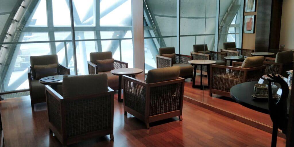 Thai Airways FIrst Class Lounge Bangkok Spa 5